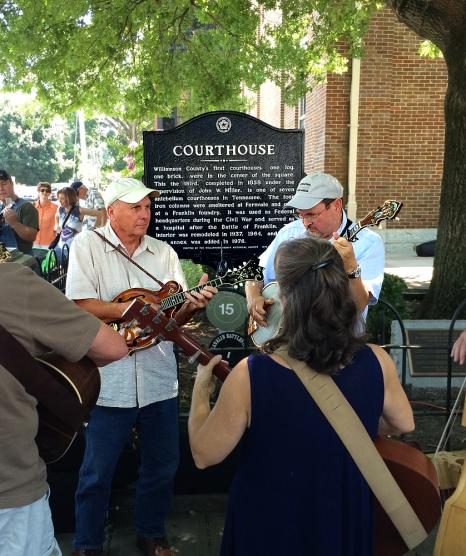 Bluegrass Along The Harpeth Fiddlers Jamboree 2014